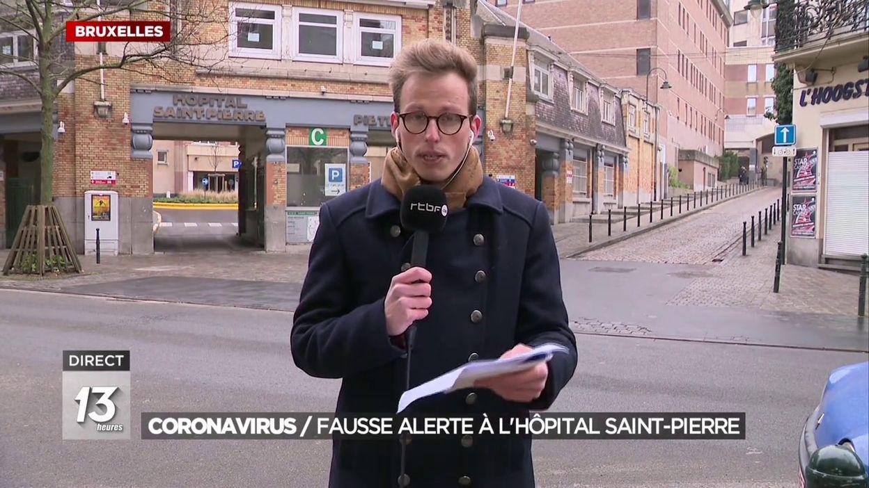 Coronavirus : fausse alerte à l hôpital Saint-Pierre