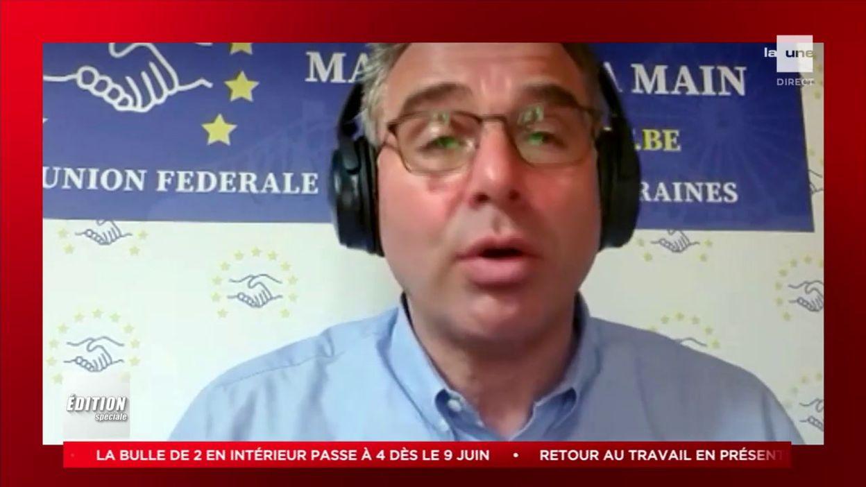 Comité de concertation du 11/05/2021: réaction de Dimitri Delforge, président de l'Union des forains