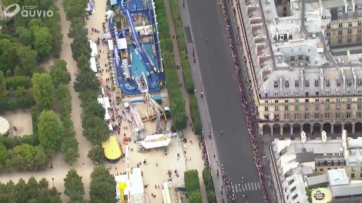 Kristoff s'impose sur les Champs-Elysées, Thomas s'offre son 1er Tour de France