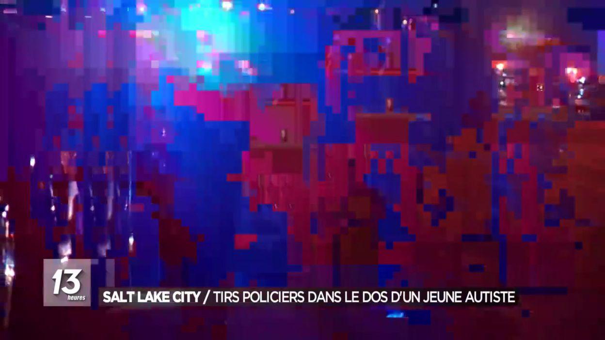 Salt Lake City: tirs policiers dans le dos d un jeune autiste