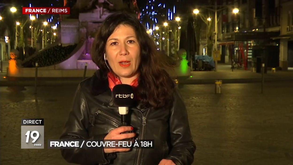 France Voici La Carte Des Departements Ou Le Couvre Feu Commence A 18h Des Ce Samedi