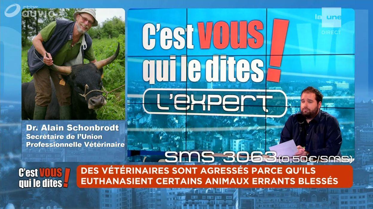 L'expert du débat : Dr. Alain Schonbrodt - Secrétaire de l'Union Professionnelle Vétérinaire