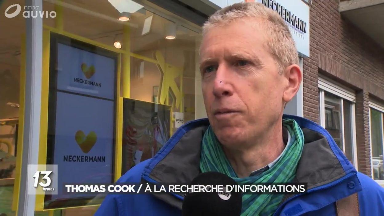 Thomas Cook : à la recherche d'informations
