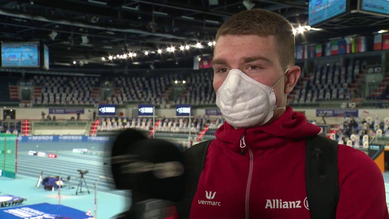Euro d'athlétisme de Torun : Thomas Carmoy file en finale à la hauteur