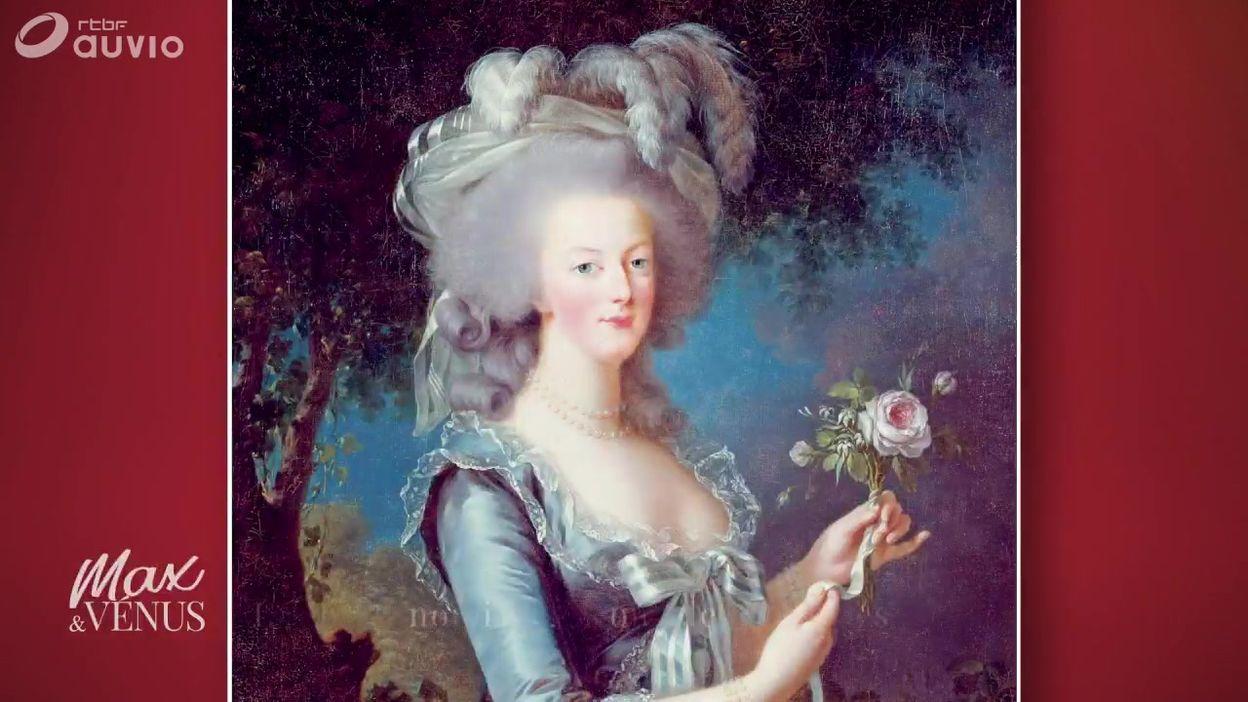 Marie-Antoinette à la table des Rois