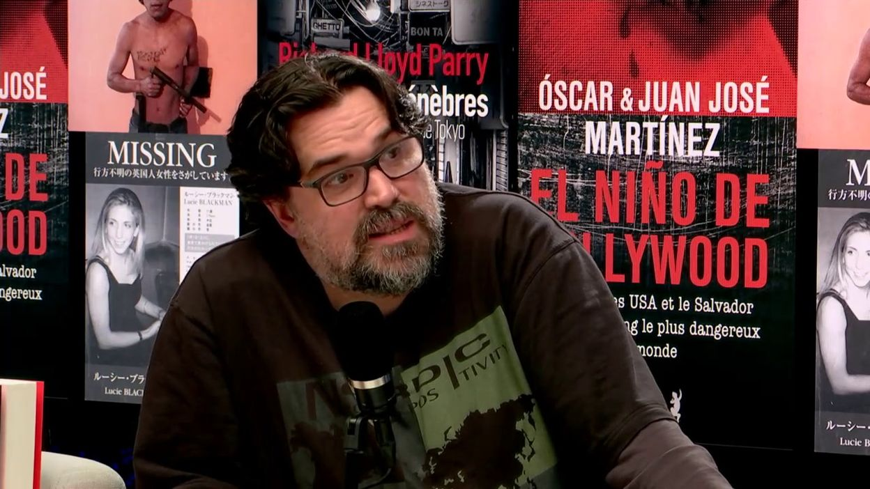 Richard Lloyd Parry et les frères Martinez