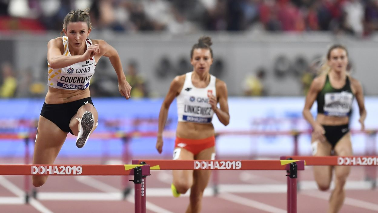 Paulien Couckuyt éliminée en séries du 400m haies