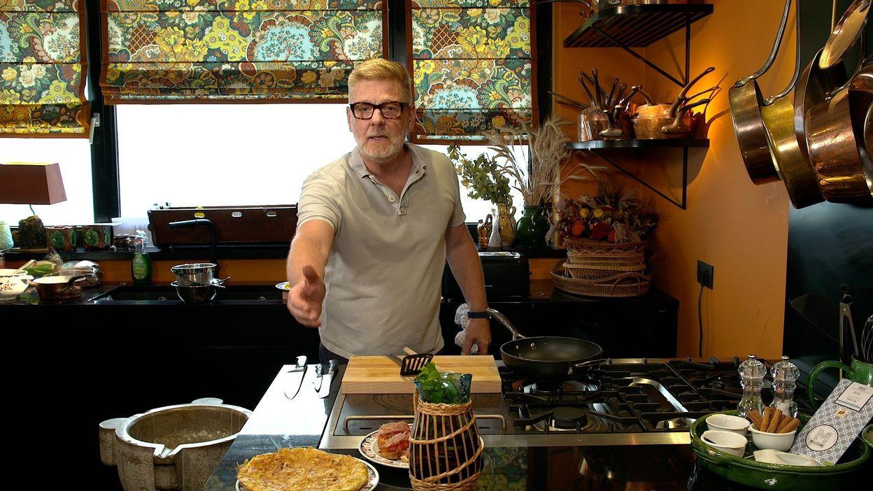 Recette de sangria, tortilla et pan con tomate de Gerald Watelet