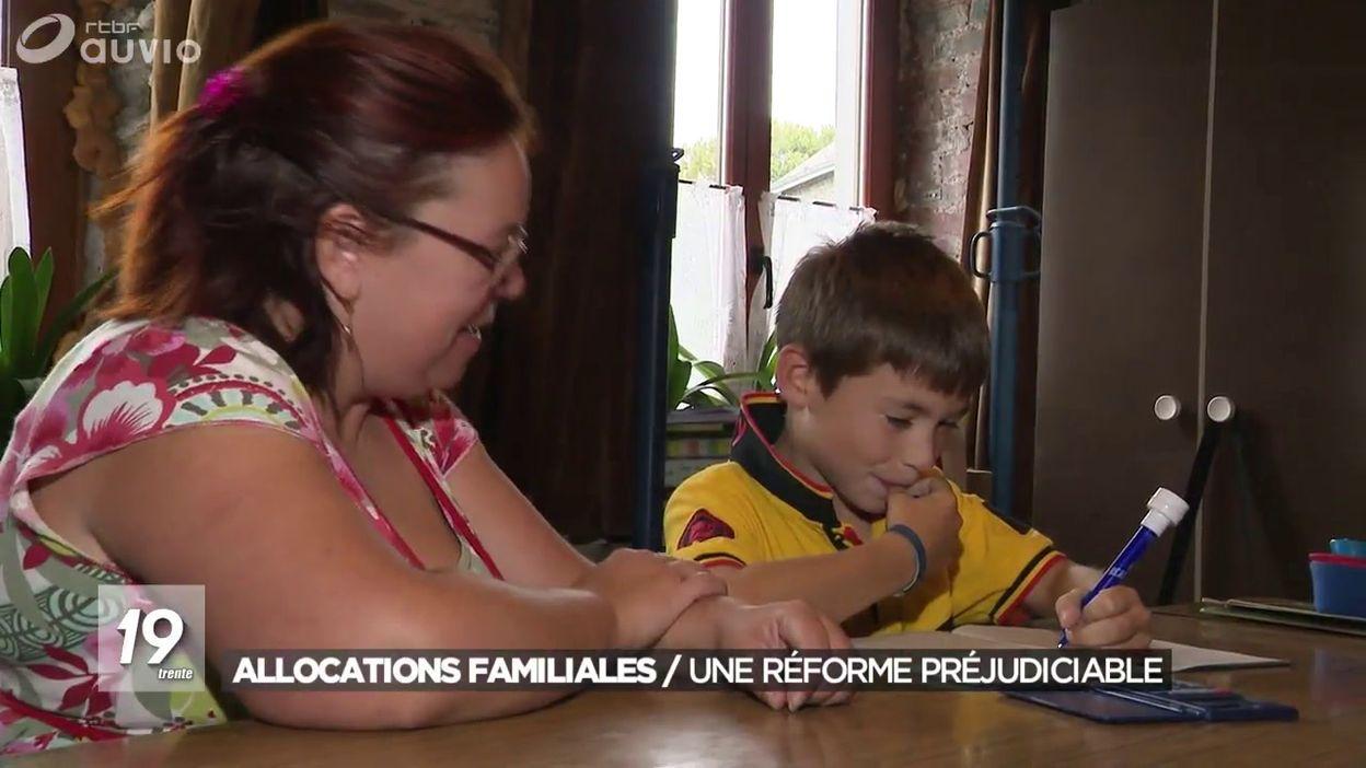 La réforme des allocations familiales : des familles lésées