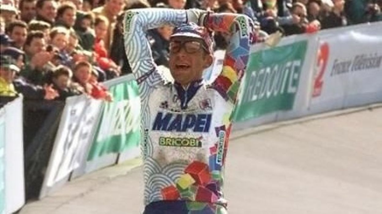 Paris-Roubaix 1998 : Victoire de Franco Ballerini