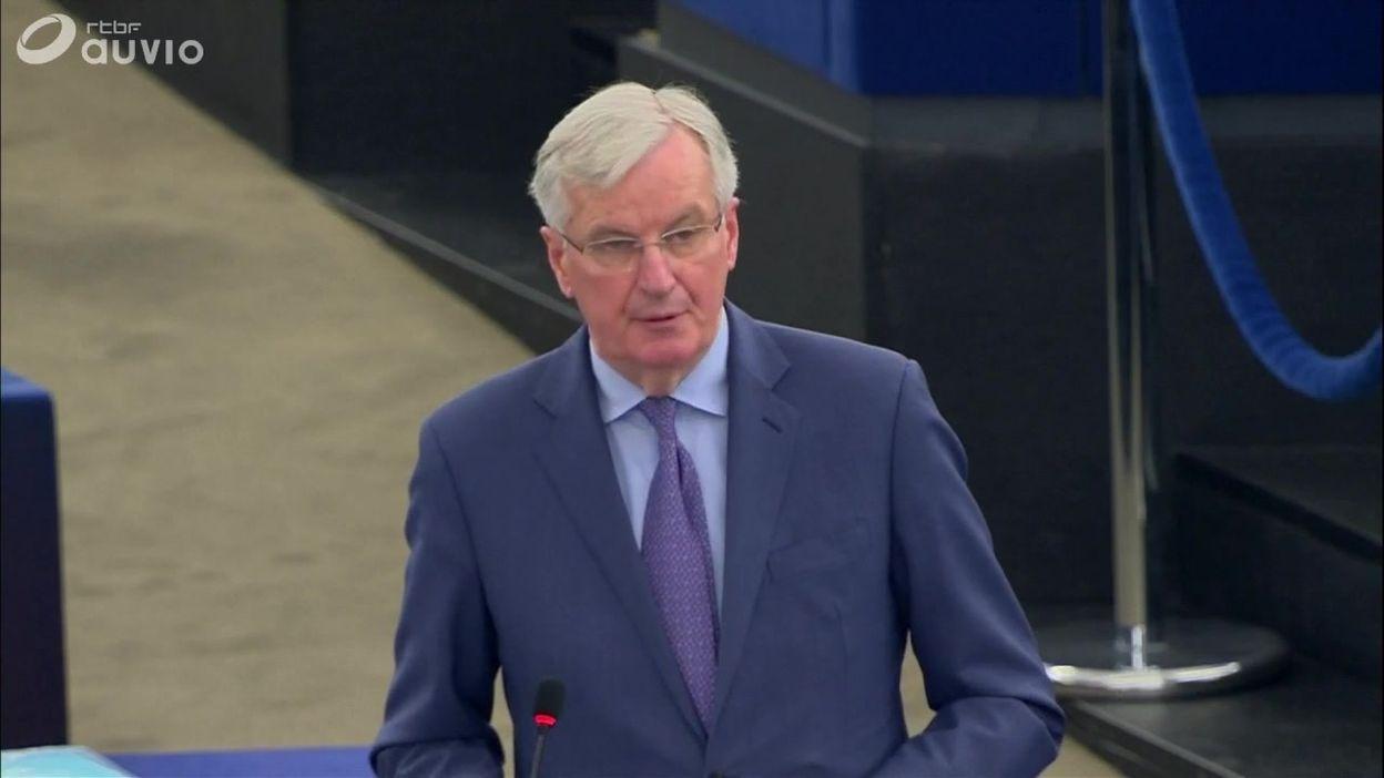Pour Michel Barnier, la responsabilité est britannique