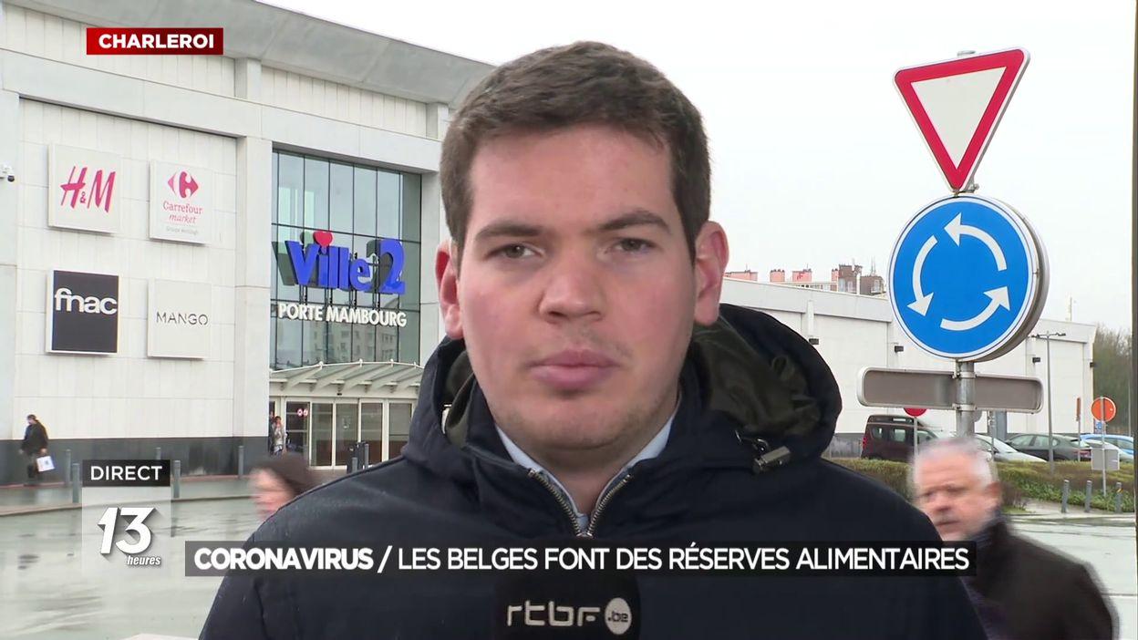 Coronavirus : Les Belges font des réserves alimentaires