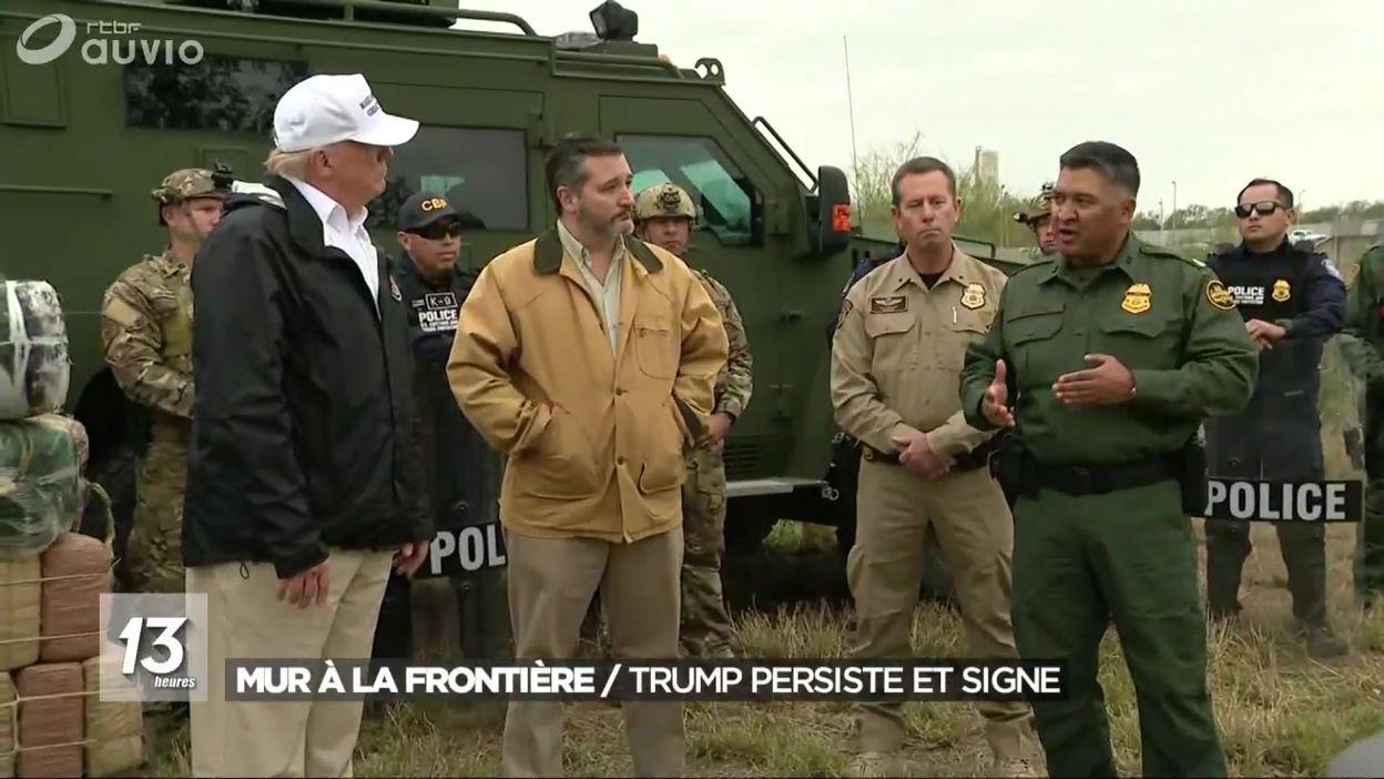 Mur à la frontière mexicaine : Donald Trump persiste et signe