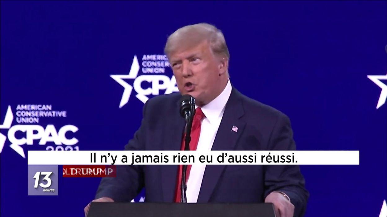 Trump entretient l'idée d un retour