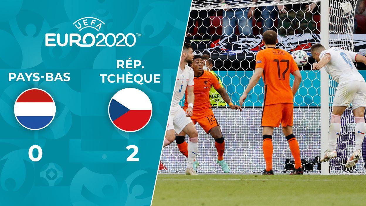 Pays-Bas - République tchèque : Le Résumé du Match