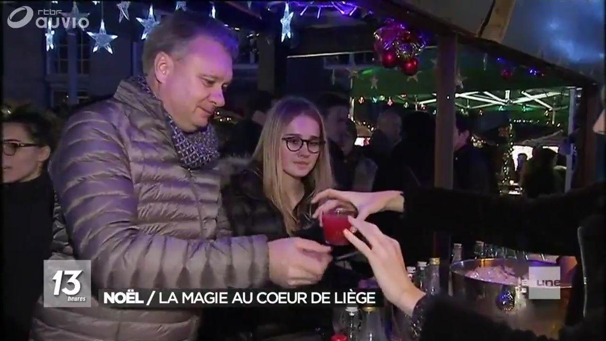 Marché de Noël à Liège : c'est parti !