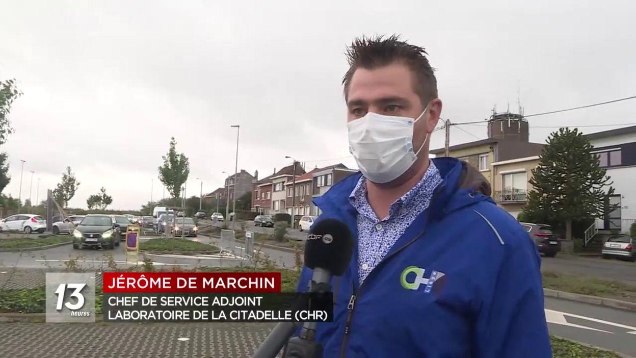 Crise de dépistage à Liège : un seul centre encore ouvert