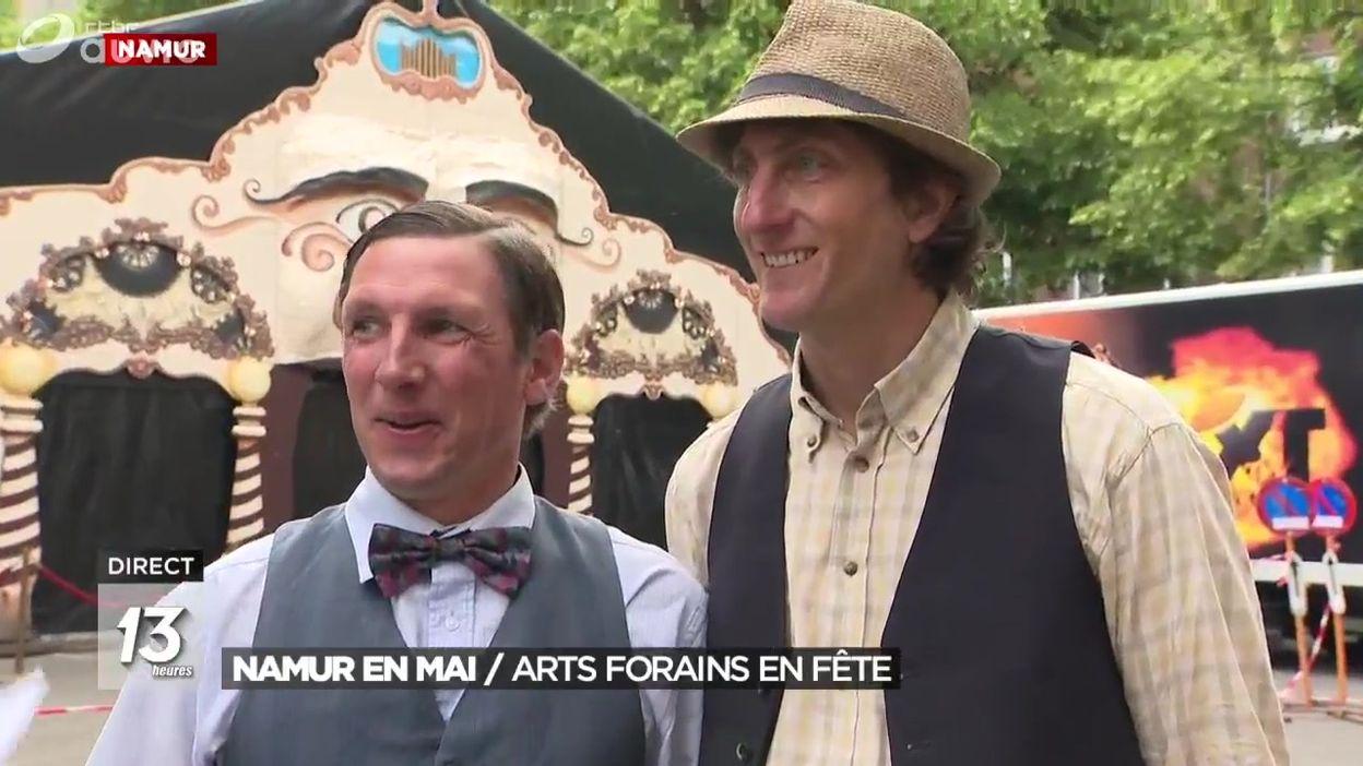 Namur en mai : Arts forains en fête