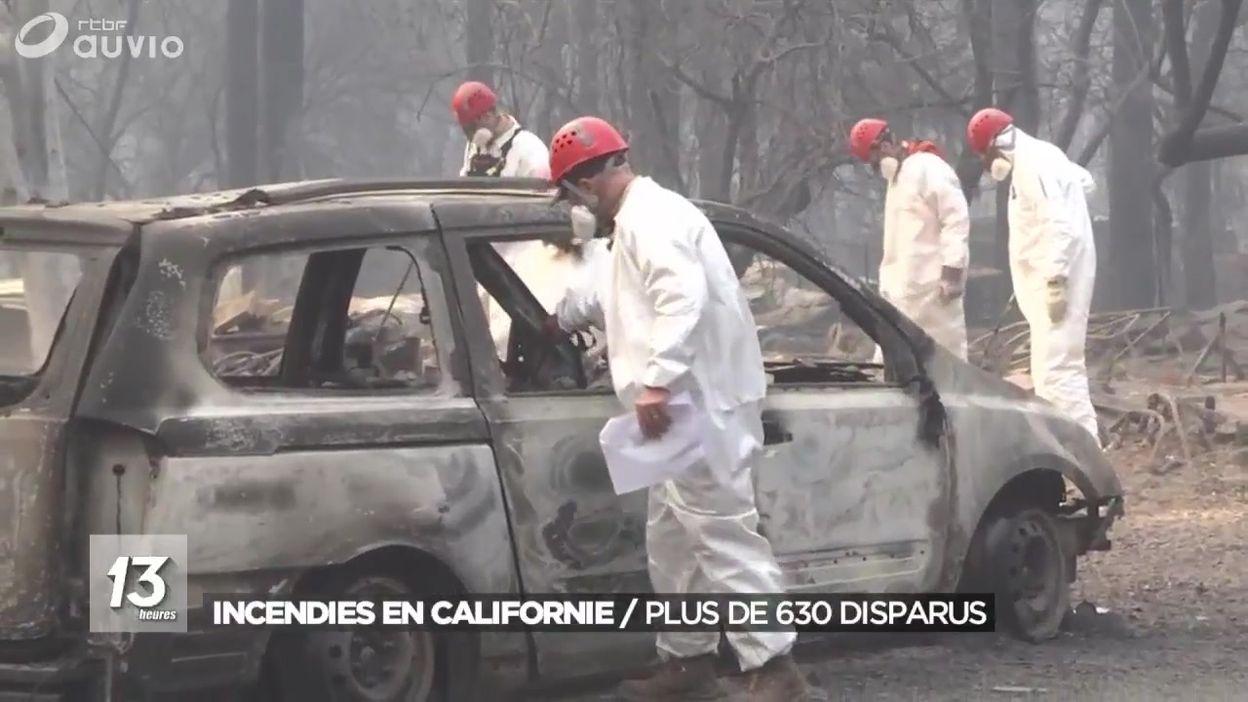 Incendies en Californie - Plus de 600 personnes portées disparuess