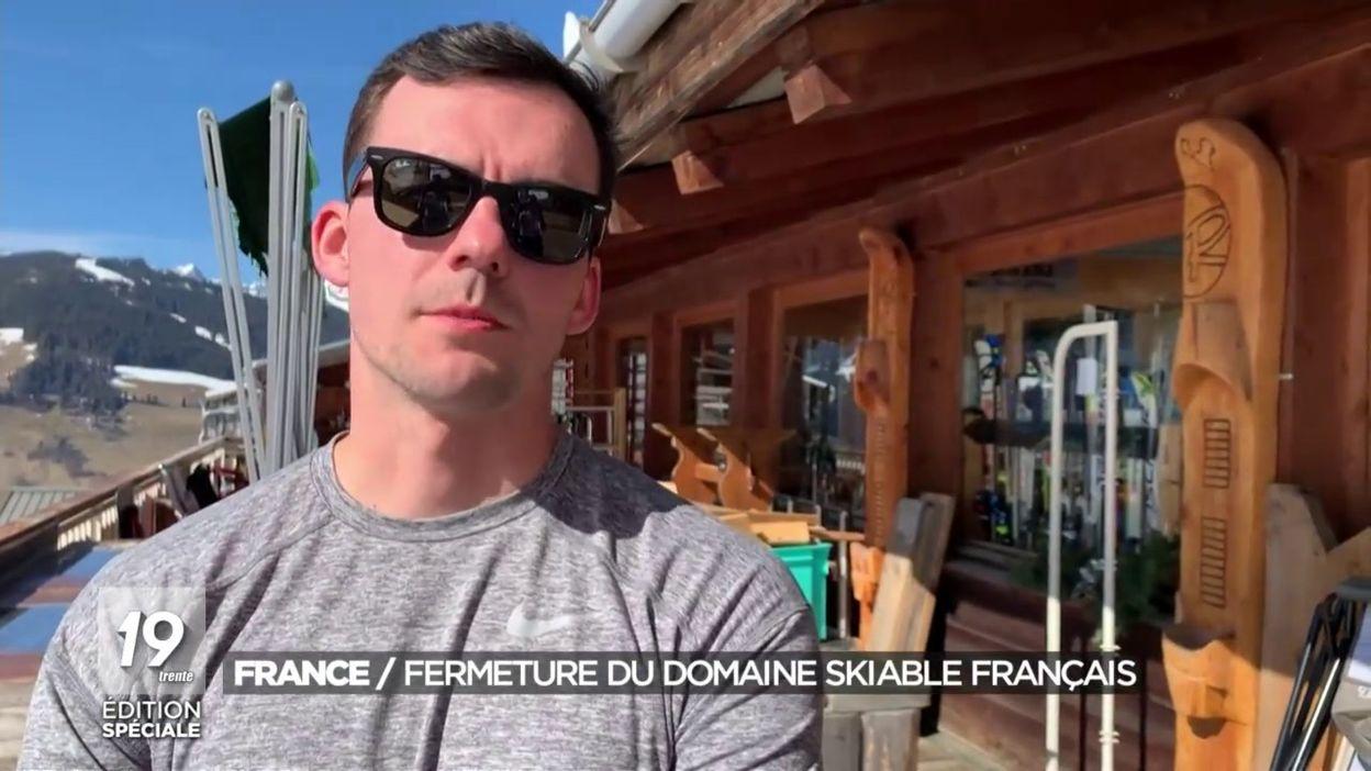 Coronavirus : fermeture des domaines skiables français