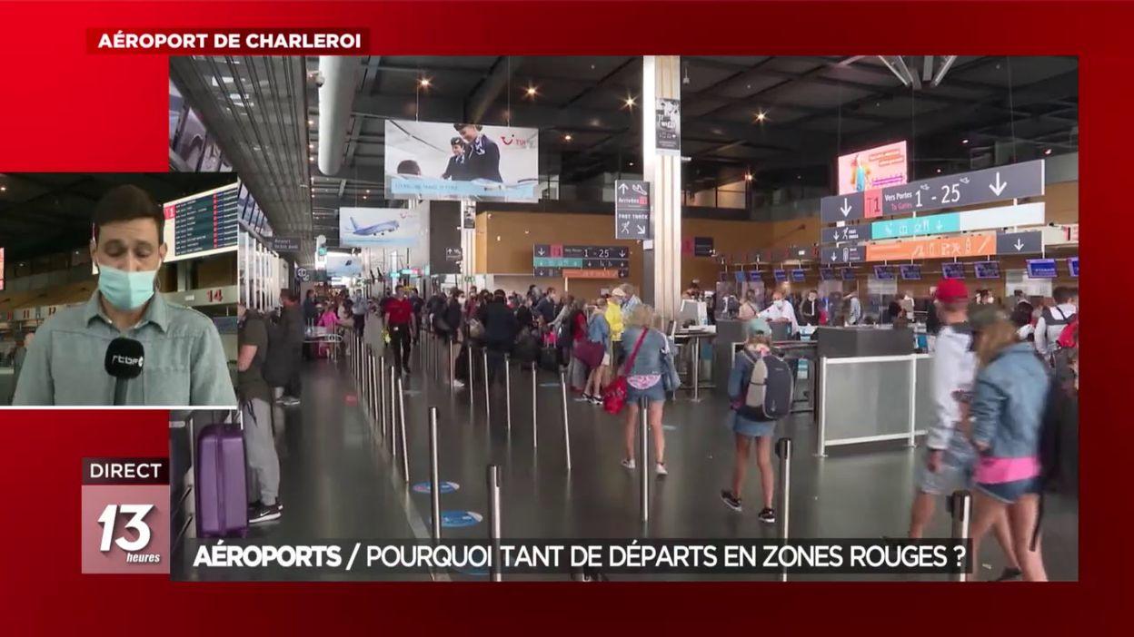 Aéroports : Pourquoi tant de départs en zones rouges ?