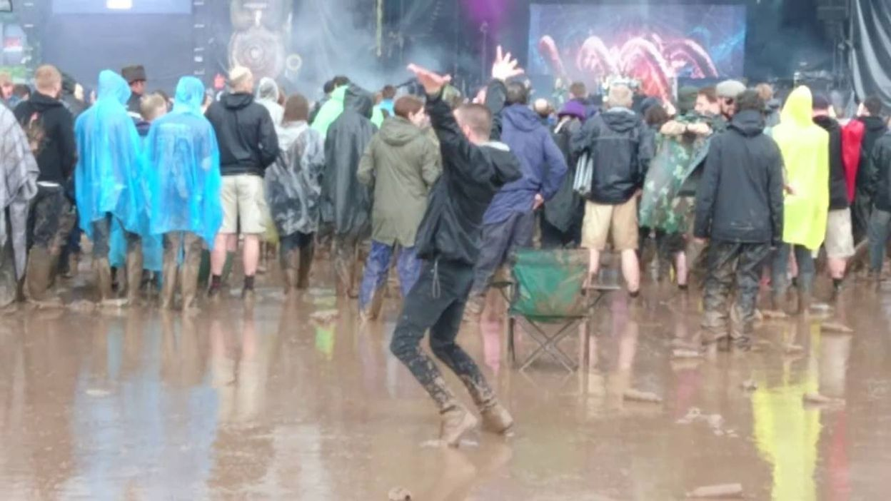 The Biggest Nightwish Fan - Download Festival 2016 - 21/06/2016