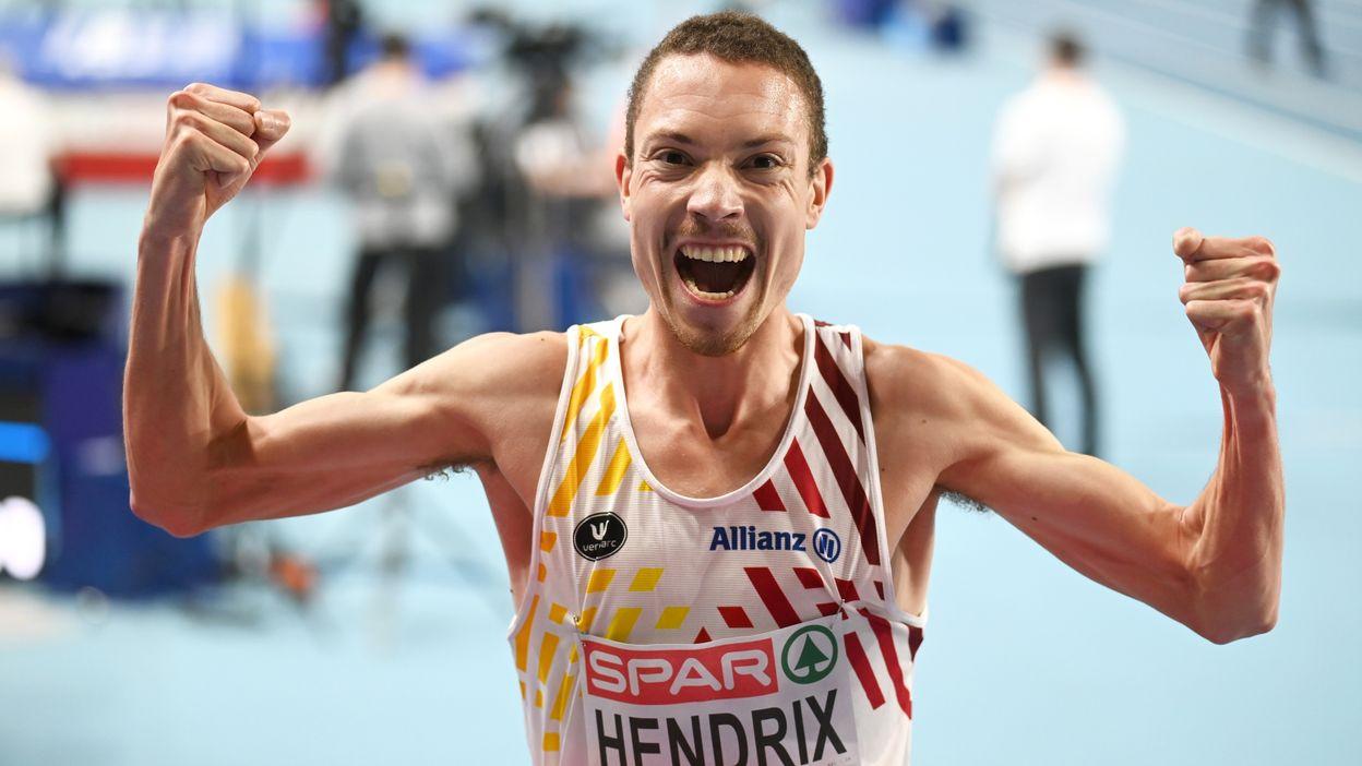 Robin Hendrix passe en finale du 3000 m