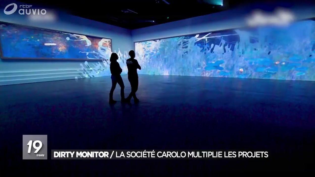 Dirty Monitor : la société derrière l'expo Monet est en lice pour les JO
