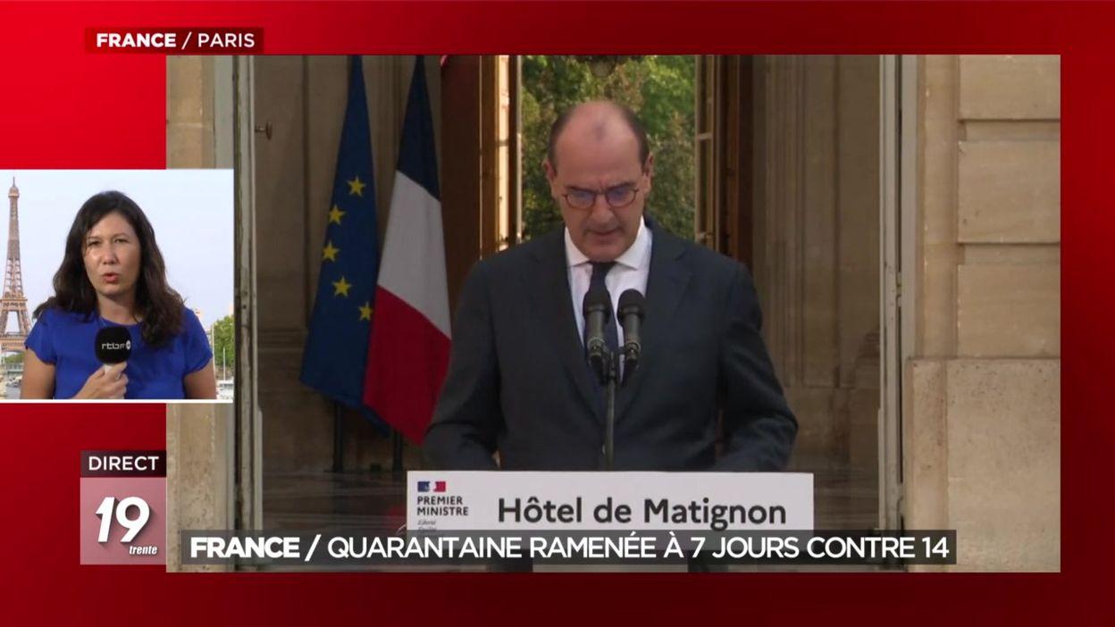 France : la quarantaine ramenée à 7 jours contre 14