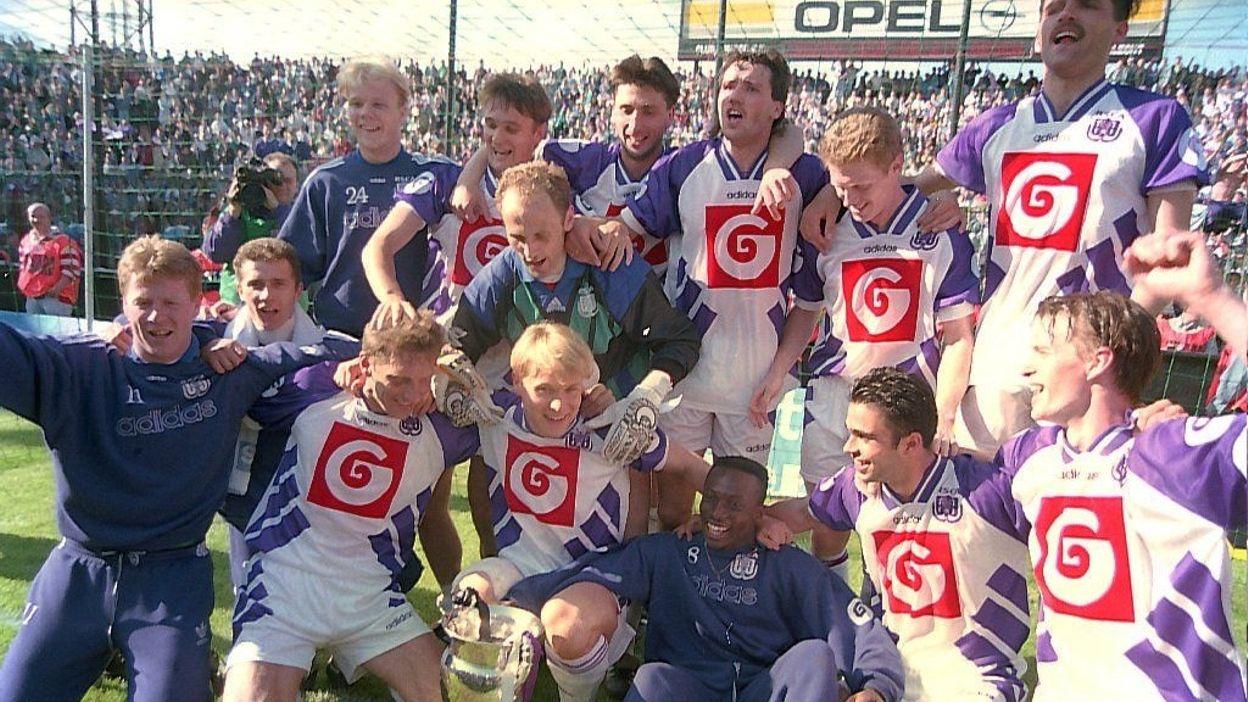 Finale 1994 : Anderlecht - FC Bruges