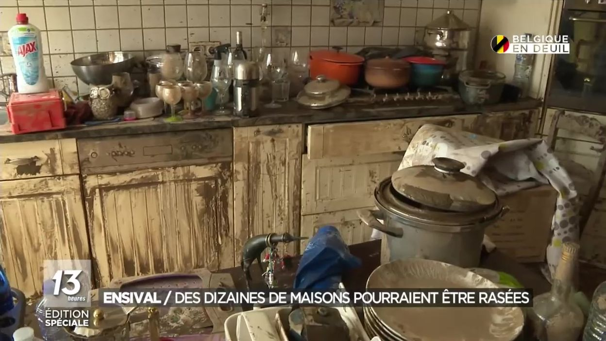 Ensival: des dizaines de maisons pourraient être rasées