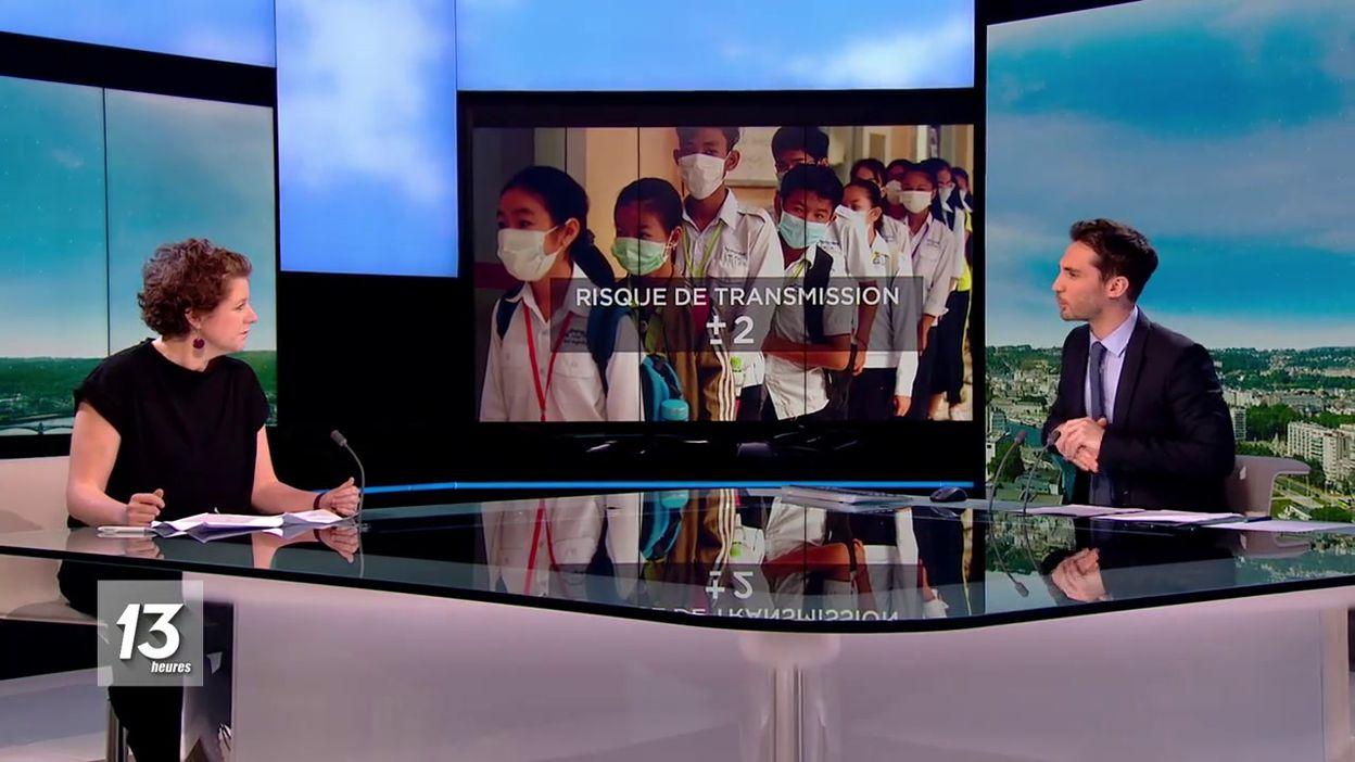 MATHIEU INVITÉ  Dr Charlotte Martin - Spécialiste des maladies infectieuses à lhopital Saint-Pierre