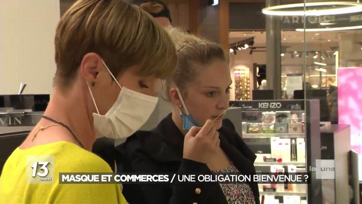 Masque et commerces: une obligation bienvenue ?