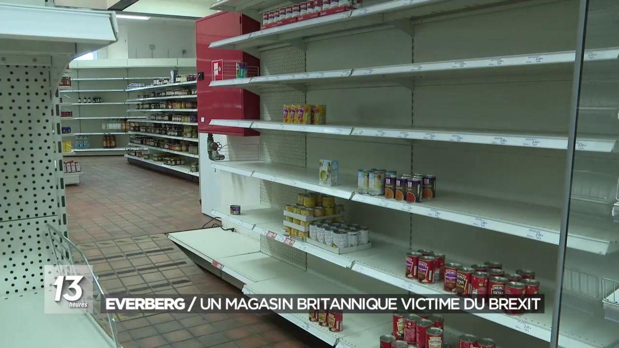 Everberg : un magasin britannique victime du Brexit