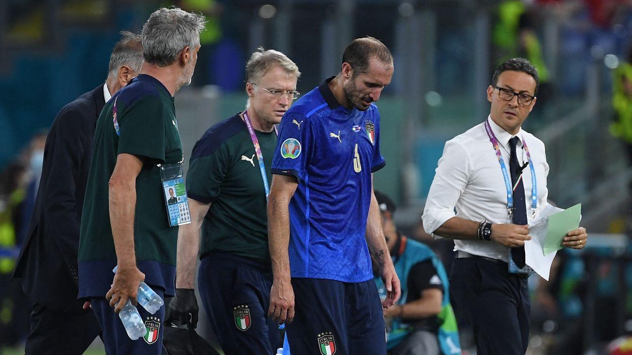 Giorgio Chiellini demande son remplacement
