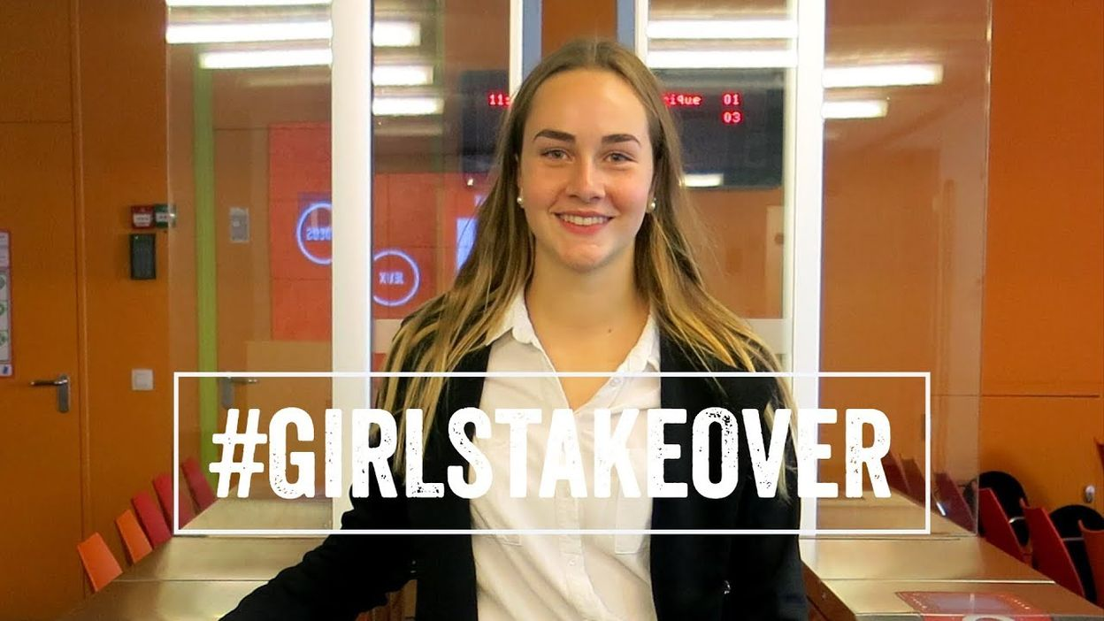 #Girlstakeover: Romane, 15 ans, directrice de la STIB