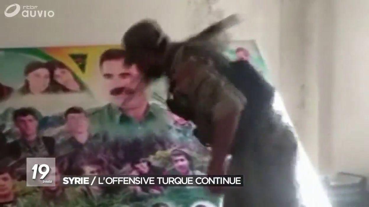 Violents combats dans le nord de la Syrie: l armée turque prend une ville kurde