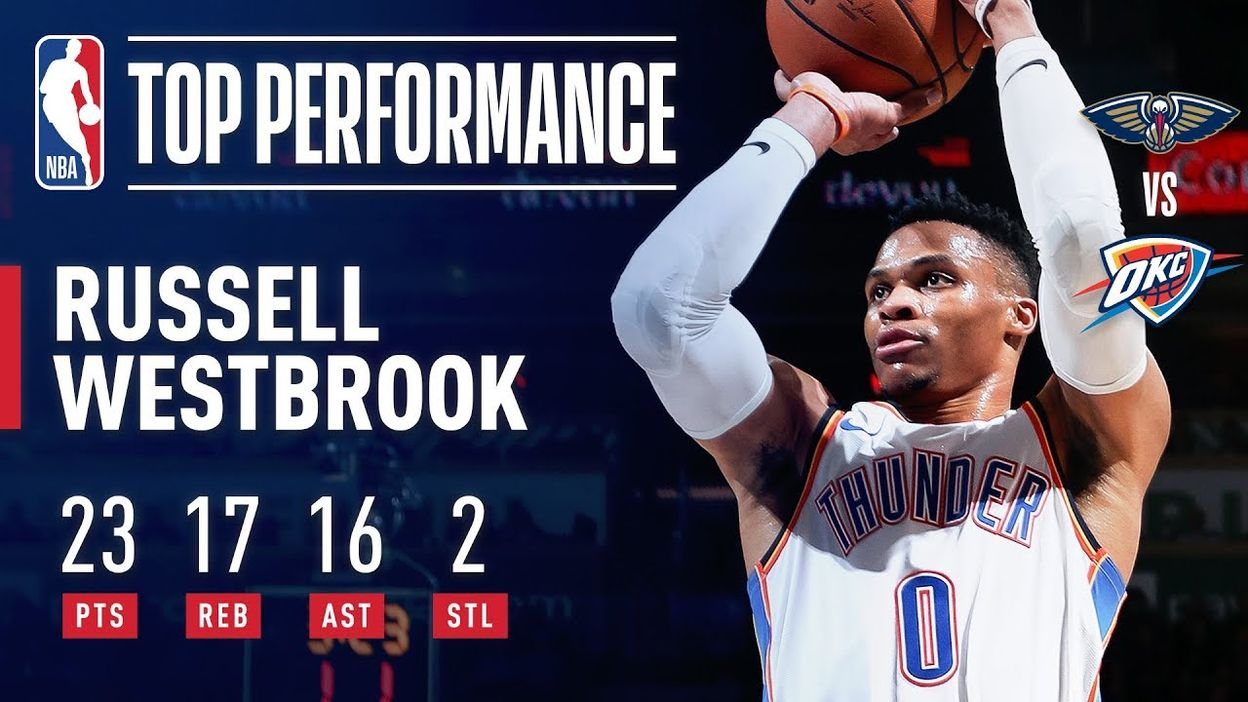 Russell Westbrook Records FASTEST Triple-Double Of The Season | January 24, 2019