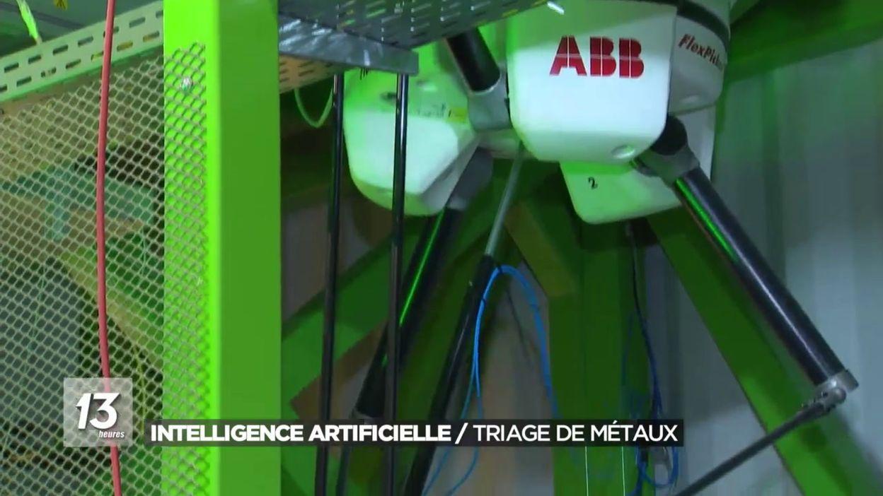Intelligence Artificielle : Tri des métaux