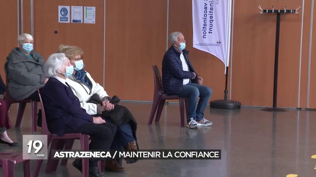 AstraZeneca : maintenir la confiance