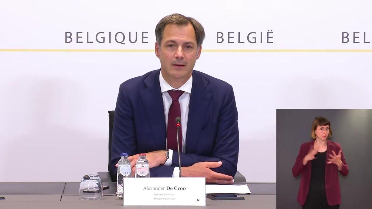 Comité de concertation du 18 juin : les principales mesures d'assouplissement, par Alexander De Croo