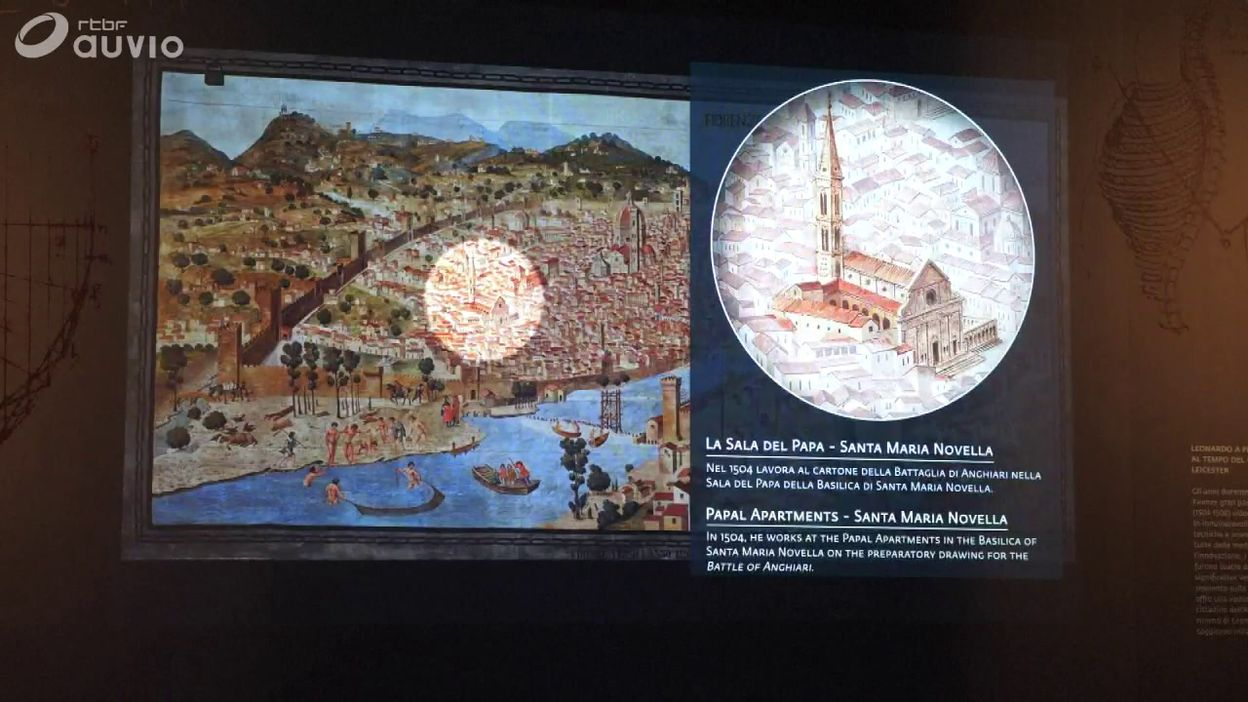 Exposition autour du Codex Leicester de Léonard De Vinci à Florence