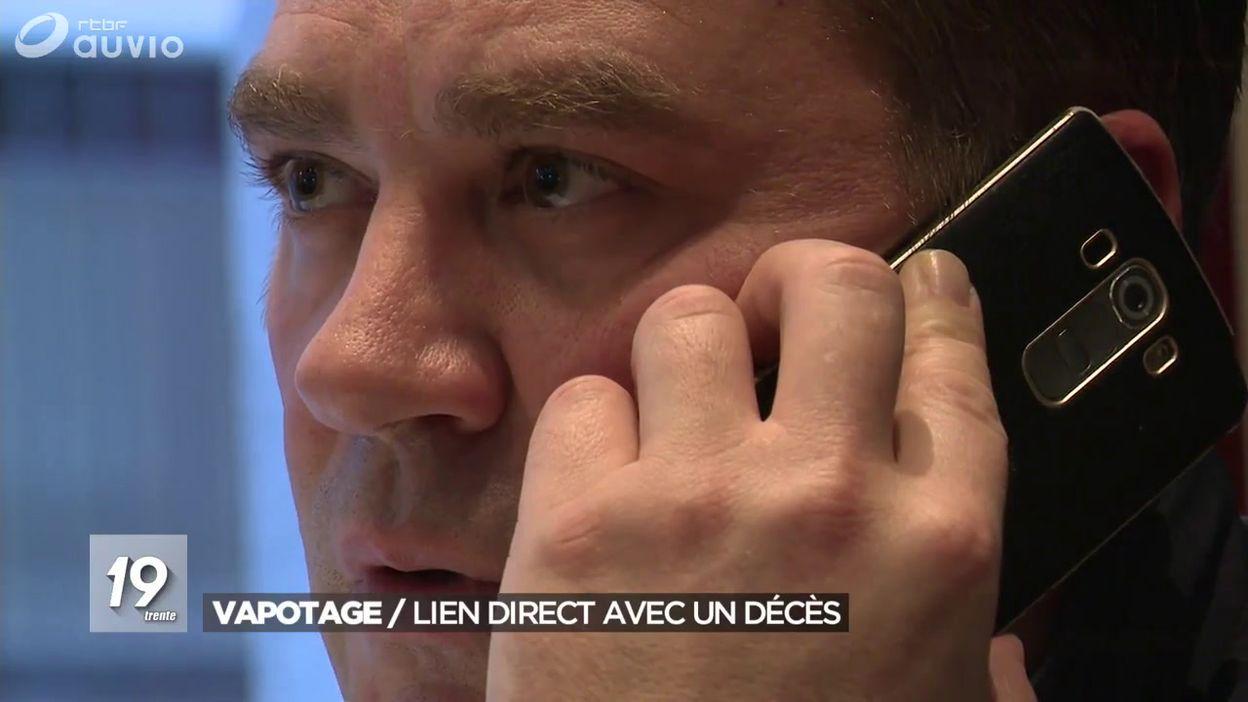 La cigarette électronique a tué Raphaël âgé de 18 ans: le lien est établi affirme Maggie De Block