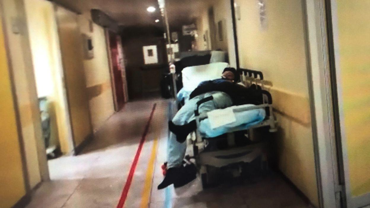 Vidéo d'un hôpital en Italie: