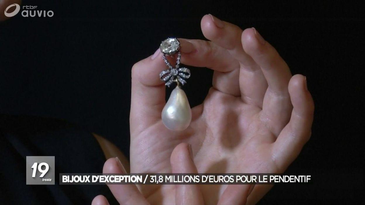 Un pendentif de Marie-Antoinette adjugé 31 millions d'euros à Genève