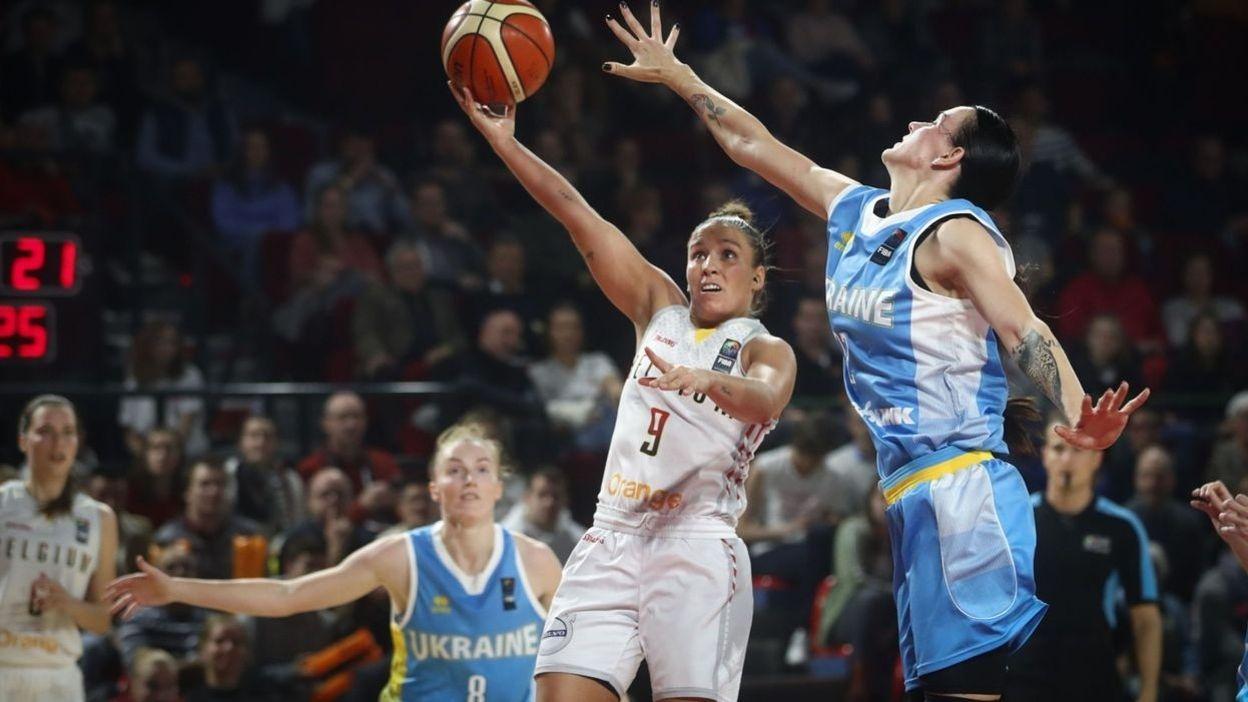 Belgique - Ukraine : 83-66