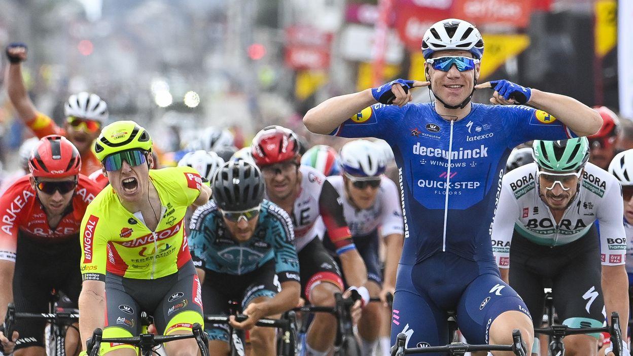 5ème étape : Dinant > Quaregnon : Victoire de Fabio Jakobsen