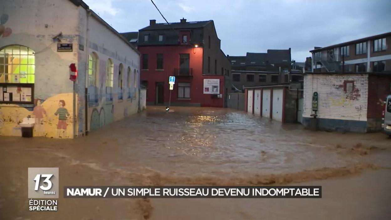 Namur : un simple ruisseau devenu indomptable