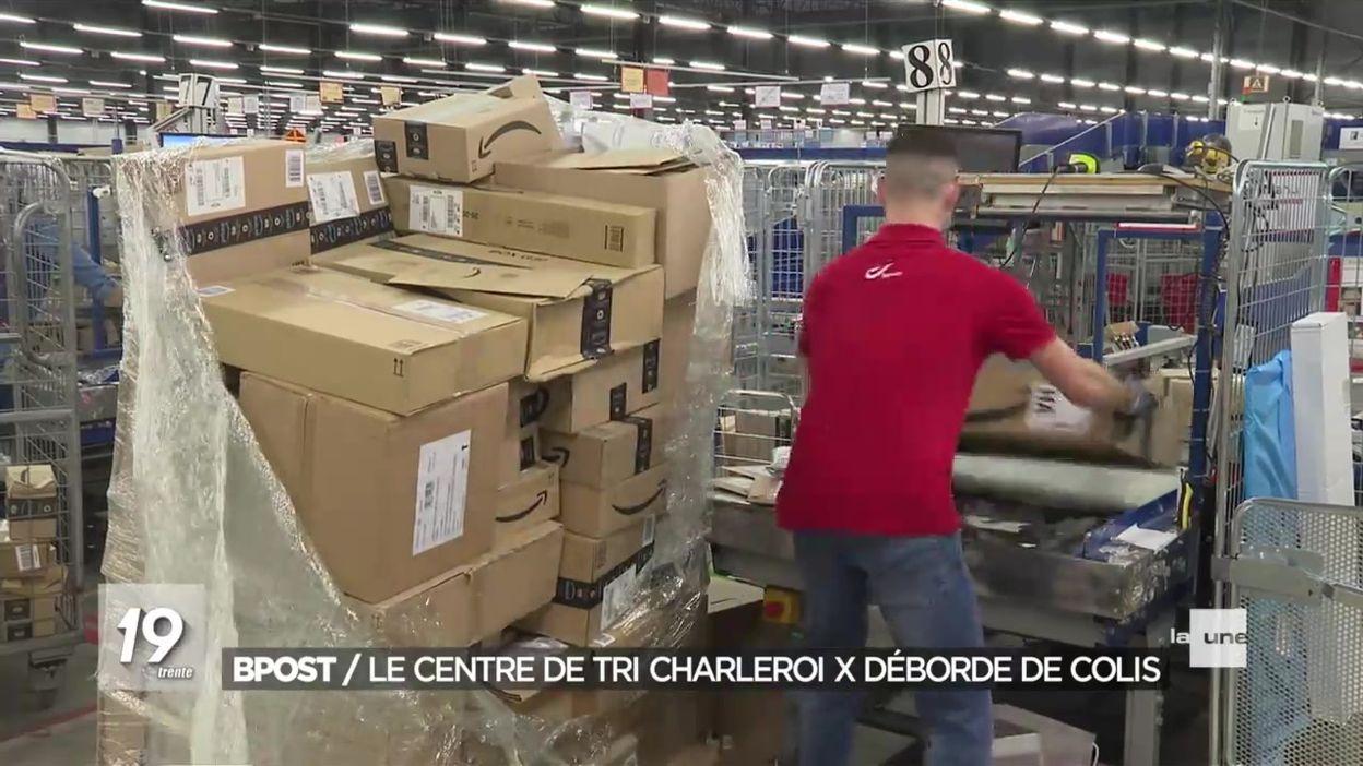 Colis : les centres de tri de Charleroi ne suivent plus