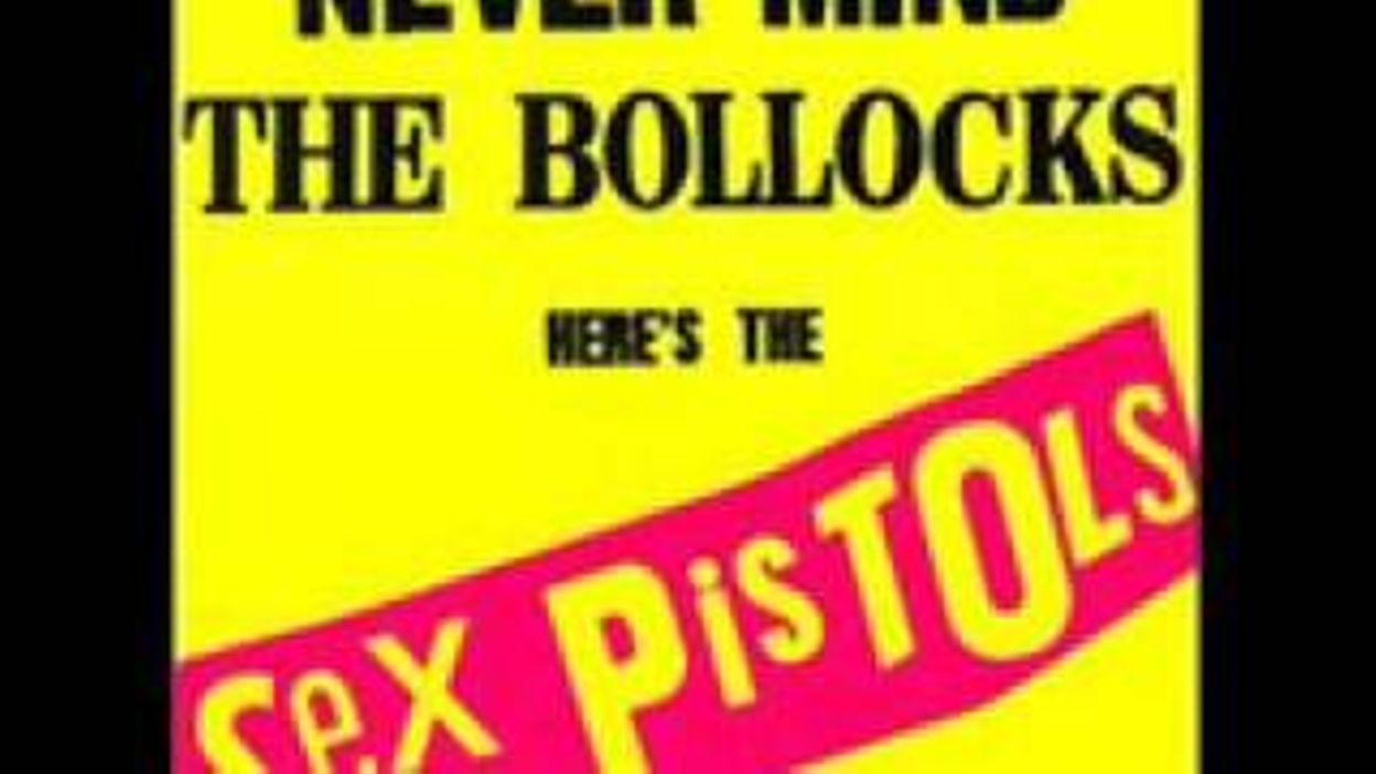 Sex Pistols I Am An Anarchist